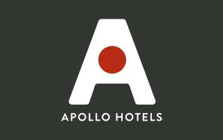 retail marketing logo apollo hotels