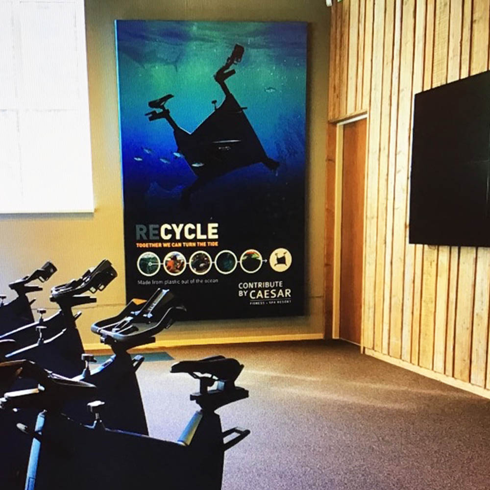 fitness marketing indoor blindframe ceasar den haag 1000x1000