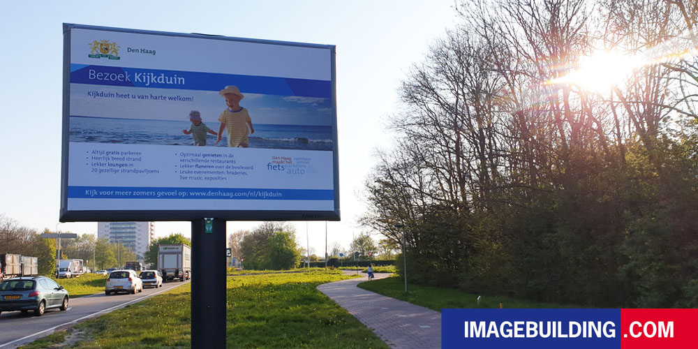 citymarketing place branding kijkduin gemeente den haag trotter billboard trotterbord blog image building