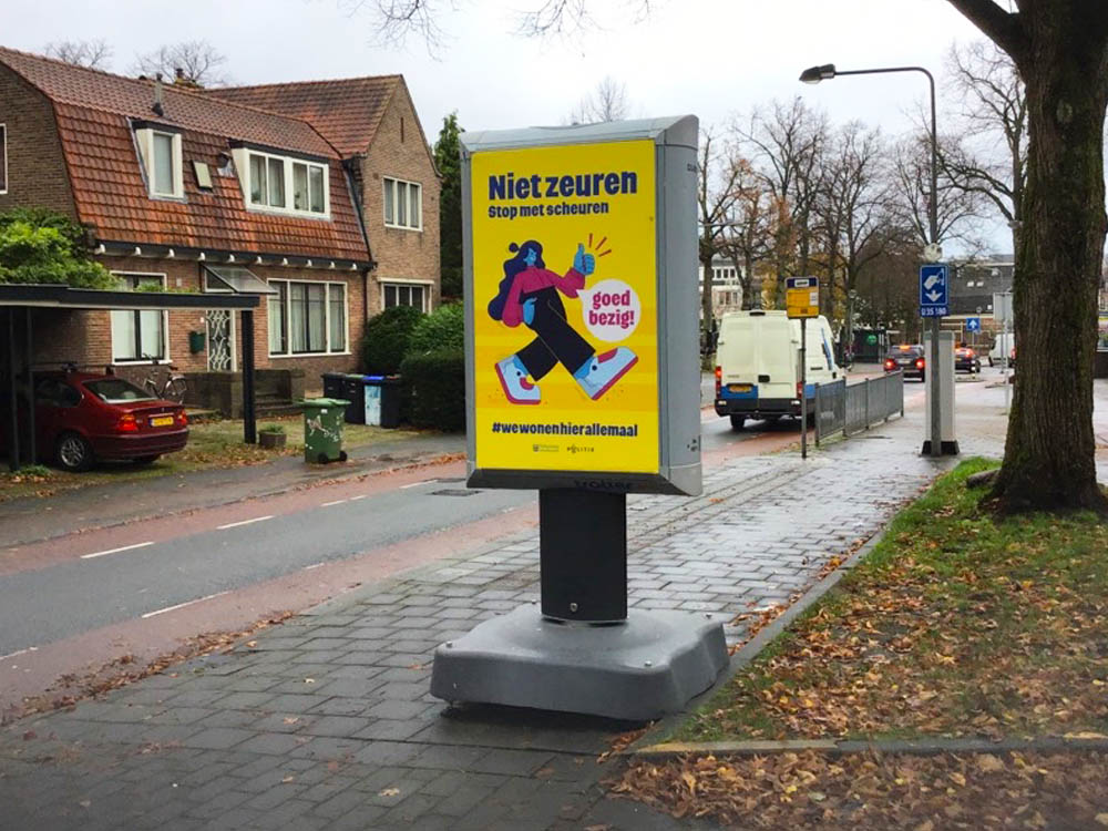 campagne verkeersveiligheid gemeente hilversum trotter overheidscommunicatie