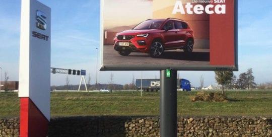 seat trotter campagne ateca landelijk trotter billboards automotive marketing 1000x1000